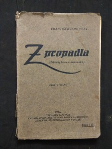 Z propadla - Zápisky herce v nemocnici - (Obr, 44 s., foto aut.)