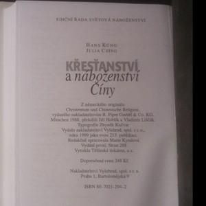 antikvární kniha Křesťanství a náboženství Číny , 1999