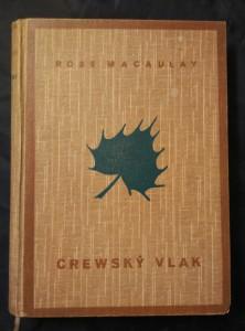 Crewský vlak (Oppl., 240 s., ob a vaz  J. Čapek, obálka vevázána)