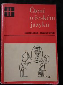 náhled knihy - Čtení o českém jazyku (Obr., 364 s., il. M. Nesvadba)
