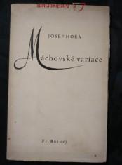 náhled knihy - Máchovské variace (Obr., 46 s., il. K. Svolinský)
