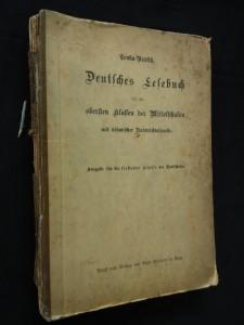 náhled knihy - Deutsches Lesebuch für die obersten klassen der Mittelschulen mit böhmischer Interrichtssprache