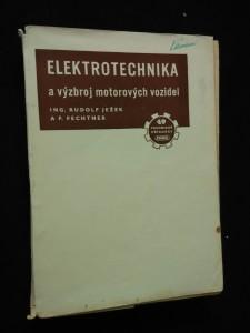 Elektrotechnika a výzbroj motorových vozidel (Obr, 312 s.
