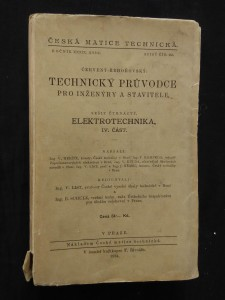náhled knihy - Elektrotechnika - Technický průvodce pro inženýry  a stavitele část. IV. Část (Obr, 408 s