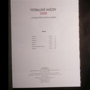 antikvární kniha Fotbalové hvězdy 2009 + 20 nejlepších Čechů a Slováků, 2008