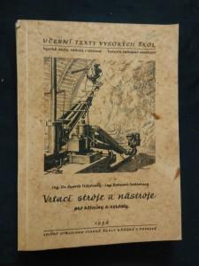 náhled knihy - Vrtací stroje a nástroje pro horniny a nerosty (A4, Obr, 220 s.)