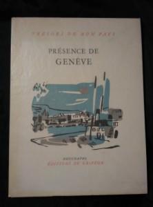 náhled knihy - Présence de Geneve - Trésors de mon pays (A4, Obr, 24 s, 48 s čb foto)