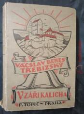 náhled knihy - V záři kalicha (V podvečer pětilisté růže, Masopust na Karštejně, Ušpalán)