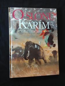O slonu Kárím (A4, lam, 112 s., ob a il. Z. Burian)