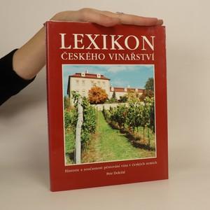 náhled knihy - Lexikon českého vinařství : historie a současnost pěstování vína v českých zemích