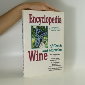 náhled knihy - Encyclopedia of Czech and Moravian wine