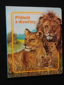 náhled knihy - Přátelé z divočiny (lam, nestr., il. P. Couronne)