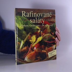 náhled knihy - Rafinované saláty. Předpisy, dobré rady, jak nakupovat