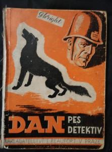 náhled knihy - Dan, pes-detektiv (Oppl, bez hřbetu,88 s., ob a  il. O. Štembera)