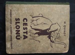 náhled knihy - Cesta slonů - romány Ahoje 19 (Oppl, 304 s., il. F. Stejskal)