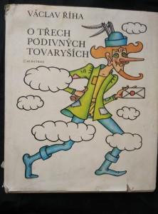 náhled knihy - O třech podivných tovaryších (Ocpl., 256 s., ob a il. H. Zmatlíková)