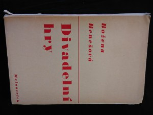 náhled knihy - Divadelní hry (Obr, 180 s.)