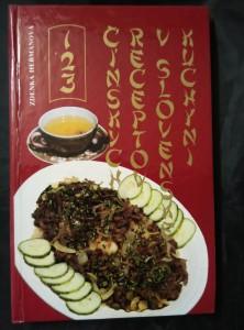 náhled knihy - 123 čínské recepty v slovenskej kuchyni (lam, 190 s., bar foto V. Vydra)