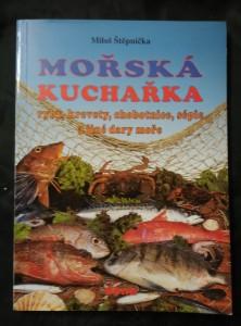 náhled knihy - Mořská kuchařka - ryby, krevety, chobotnice, sépie aj. (Obr, 128 s.)