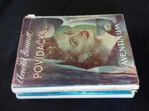 náhled knihy - Povídačka I, II (Oppl, ob. a front. J. Veris)