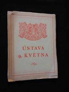 náhled knihy - Ústava 9. května (Obr, 120 s., ob. Z. Rossmann)