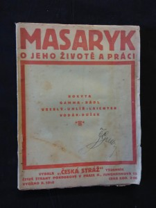 náhled knihy - Masaryk - O jeho životě a práci (Obr, 86 s., portrét TGM M. Švabinský)