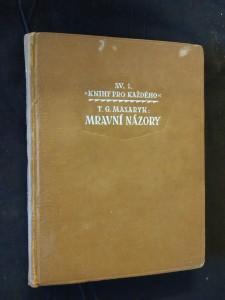 náhled knihy - Mravní názory (Ocpl, 192 s., usp. Z. Franta)