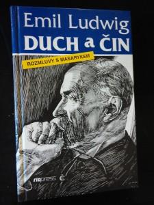 náhled knihy - Duch a čin - Rozmluvy s Masarykem (lam, 190 s.)