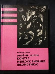 Arséne Lupin kontra Herlock Sholmes (Blondýnka) (KOD sv. 120, lam, 147 s., il. J. Žemlička)