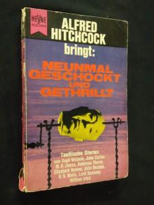 náhled knihy - Alfred Hitchcock bringt: Neunmal geschockt und gethrillt (Obr, 158 s.)