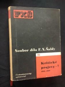 Kritické projevy 7 - 1908 - 1909 (Oppl, 492 s., ob. K. Teige)