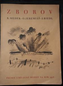 náhled knihy - Zborov (A4, Obr, 60 s. - 20 s textu, 40 s notace O. Jeremiáše)