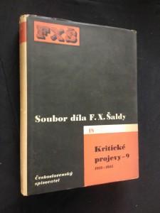 Kritické projevy 9 - 1912 - 1915 (Oppl, 406 s., ob. K. Teige)