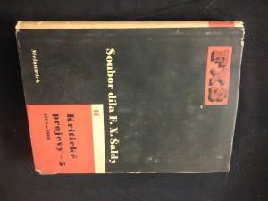 Kritické projevy 5 - 1901 - 1904 (Oppl, 286 s., ob. K. Teige)