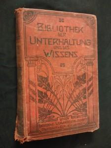 náhled knihy - Bibliothek der Unterhaltung und des Wissens (Ocpl, 240 s.)