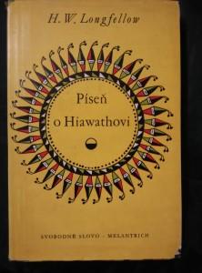 náhled knihy - Píseň o Hiawathovi (pv, 264 s., ob a il. Z. Seydl, přel. P. Eisner)
