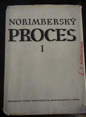 náhled knihy - Norimberský proces I. (Ocpl., 902 s., 36 obr. příloh)