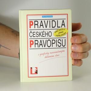 náhled knihy - Pravidla českého pravopisu s graficky naznačeným dělením slov