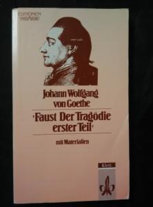 náhled knihy - Faust Der Tragödie - erster Teil - mit Materialien (Obr, 200 s.)