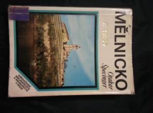 náhled knihy - Mělnicko (Obr, 193 s., foto. M. Zemina)