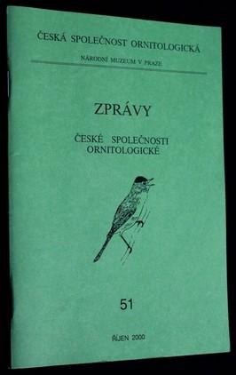 náhled knihy - Zprávy české společnosti ornitologické: 51