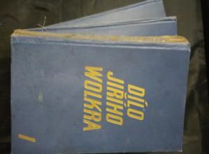 náhled knihy - Dílo Jiřího Wolkra I., II., III. (Ocpl, 326 s.,340 s., 350 s.)