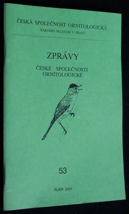 náhled knihy - Zprávy české společnosti ornitologické: 53