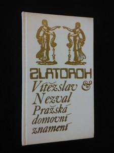 náhled knihy - Pražská domovní znamení (Ocpl, il. J. Švengsbír)
