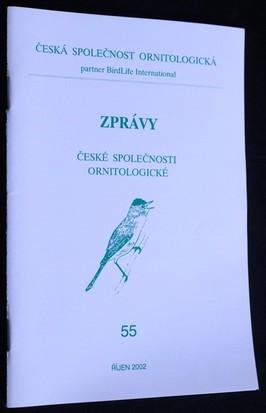 náhled knihy - Zprávy české společnosti ornitologické: 55
