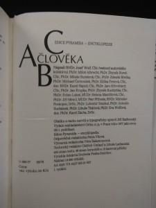 antikvární kniha ABC člověka, 1977