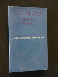 náhled knihy - Cizí slova - výběrový slovník (Ocpl, 272 s.)