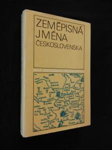 náhled knihy - Zeměpisná jména Československa (Ocpl, 374 s.)