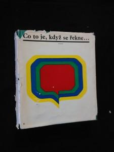 náhled knihy - Co to je, když se řekne? (Ocpl, 330 s.)