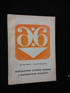 náhled knihy - Šestijazyčný slovník termínů z matematické statistiky (Obr, 198 s.)